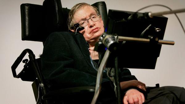 Thiên tài Stephen Hawking. Ảnh: Sky News