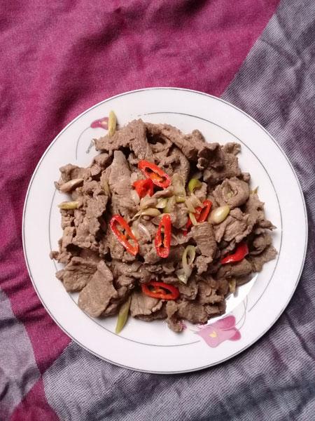 Thịt ngựa xào lăn - 1