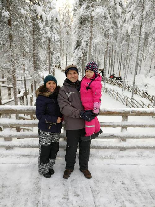 Tại Lapland- quê hương của ông già Noel trong cái lạnh -28 độ