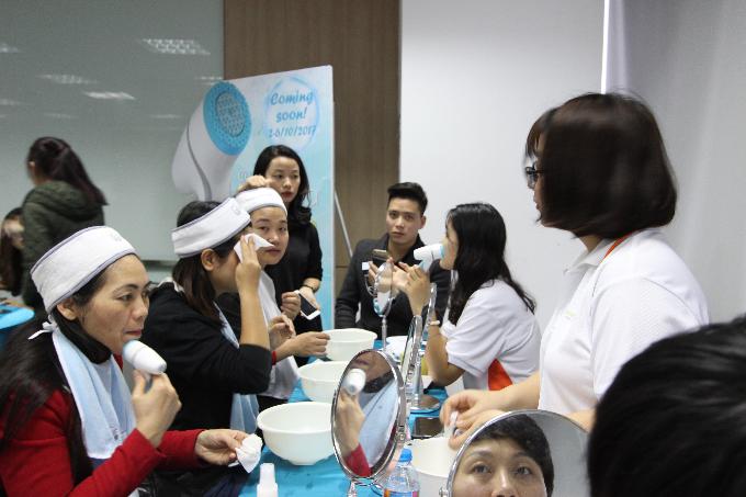 Chương trình Expo trong chuỗi sự kiện mang đến cơ hội trải nghiệm những sản phẩm chăm sóc sức khỏe và sắc đẹp hàng đầu của Nu Skin.