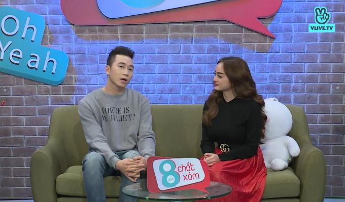 Karik tiết lộ chưa xem bộ phim Em chưa 18 do Kaity Nguyễn đóng.