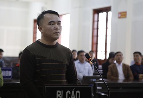 Bị cáo Nguyễn Đại Hiền. Ảnh: Anh Thư.