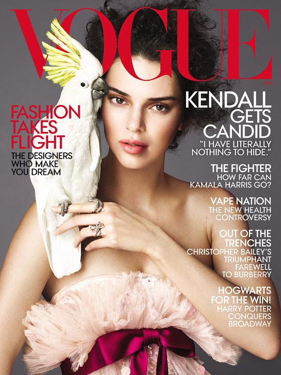 Kendall lên trang bìa tạp chí Vogue cùng với lời bộc bạch: Tôi không có gì để giấu giếm.