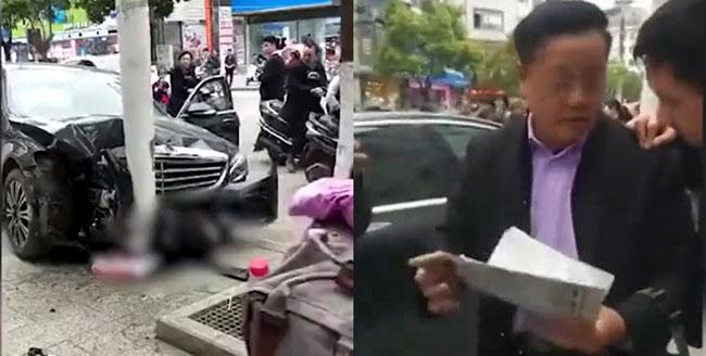 Đâm chết người, tài xế Mercedes vẫn cười vì được bảo hiểm