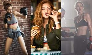 Gigi Hadid tiết lộ cách giữ dáng không cần ăn kiêng