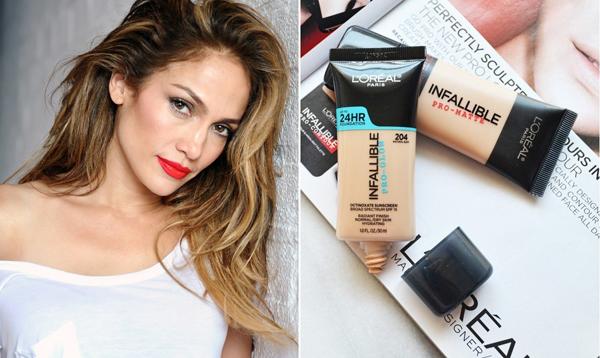 Bí quyết cho làn da nâu bóng của Jennifer Lopez nằm ở sản phẩm kem nền giá chỉ 13 USD (khoảng 280.000 đồng) của LOreal.