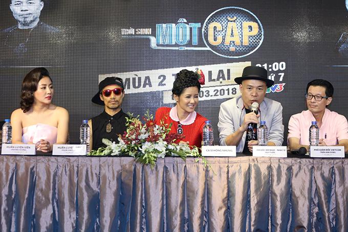 Trời sinh một cặp mùa hai sẽ lên sóng vào 21h thứ bảyhàng tuần trên Đài truyền hình Việt Nam, bắt đầu từ 17/3.