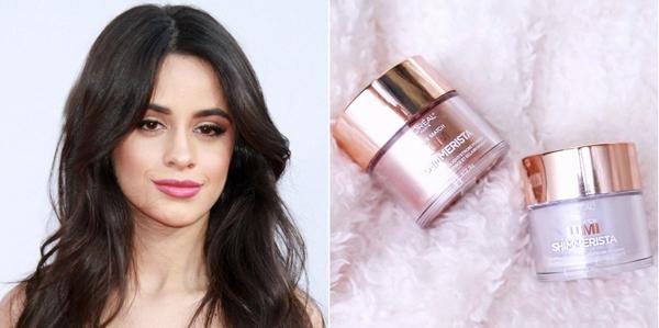 Không chỉ Selena Gomez, Camilla Cabello cũng sử dụng sản phẩm làm đẹp bình dân cho lần xuất hiện trên thảm đỏ lễ trao giải Grammy 2018. Sản phẩm Camilla sử dụng là phấn tạo khối sáng của LOreal giá 15 USD (khoảng 320.000 đồng).