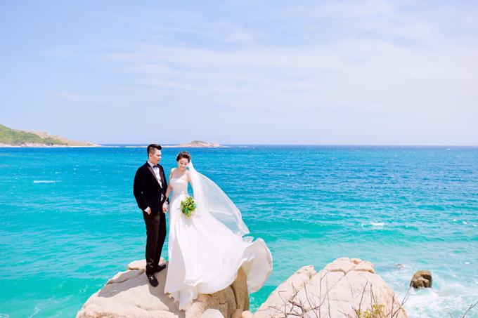 Ảnh cưới ở biển Nha Trang của đôi tiên đồng, ngọc nữ tuyển bida - 7