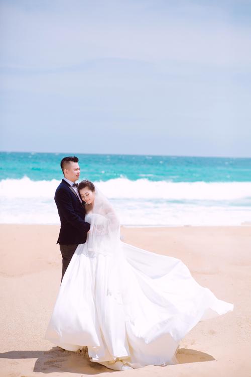 Ảnh cưới ở biển Nha Trang của đôi tiên đồng, ngọc nữ tuyển bida - 9