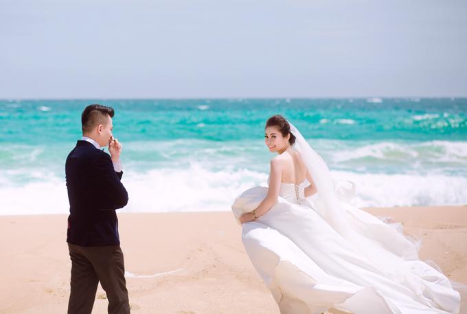 Ảnh cưới ở biển Nha Trang của đôi tiên đồng, ngọc nữ tuyển bida - 10