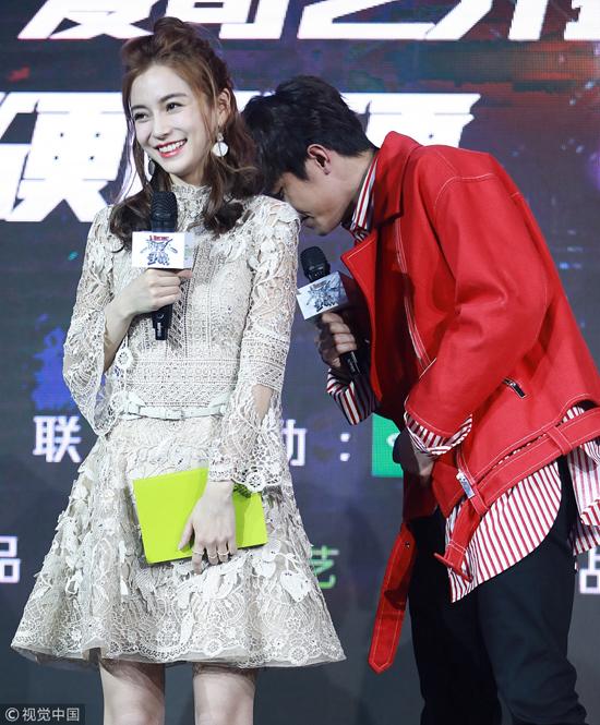 Ngôi sao Hoa ngữ khoe sắc rạng ngời tại sự kiện.