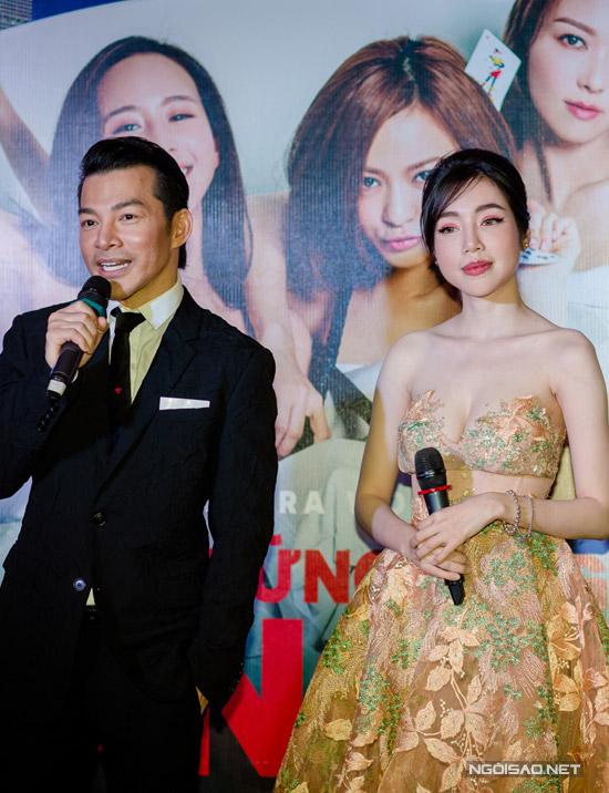 Elly Trần khoe ngực khủng, sóng đôi bên Trần Bảo Sơn - 7