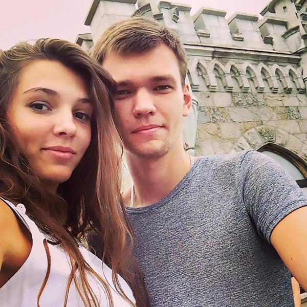 Maria và bạn trai cũ Andrey khi còn mặn nồng. Ảnh: The Siberian Times