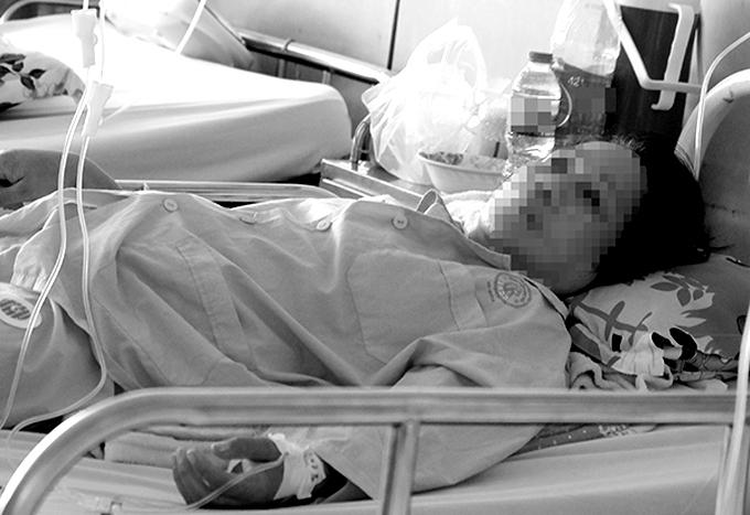 Đến sáng 16/3, sức khỏe bệnh nhân đã hồi phục. Ảnh: L.P