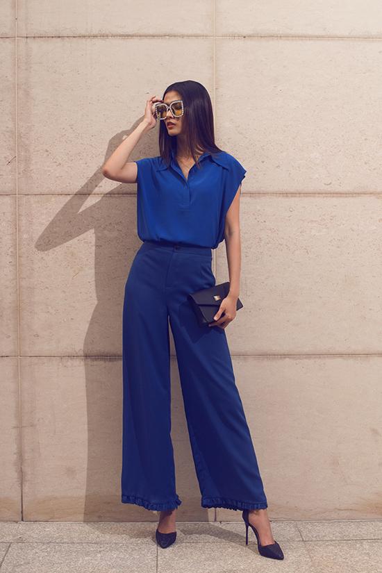 Bộ ảnh được thực hiện với sự hỗ trợ của nhiếp ảnh Milor Trần, stylist Mì Gói, người mẫu Thuỳ Dương, Cao Thiên Trang, Kikki Lê.
