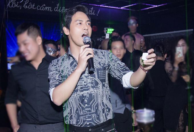 MC Phan Anh khuấy động buổi tiệc.