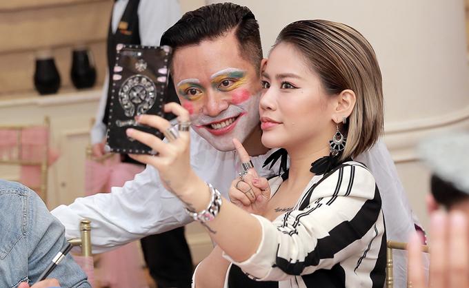 Yến Lê, học trò của Tuấn Hưng trong cuộc thi The Voice.