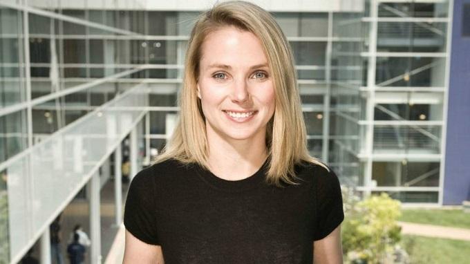 Bà là CEO cuối cùng của Yahoo trước khi bị mua lại. Ảnh: Red Ice.