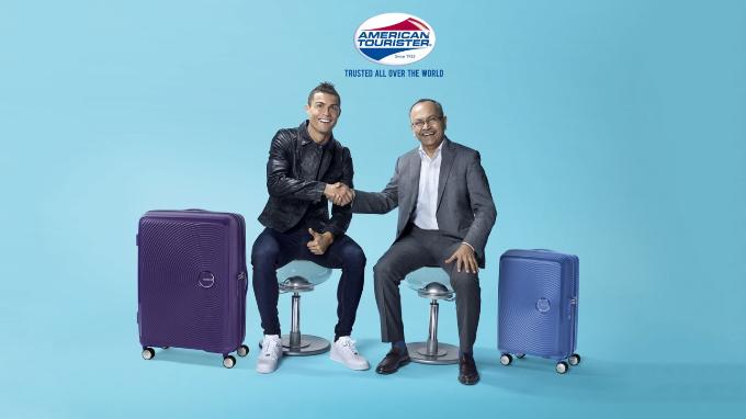 Việc chọn Cristiano Ronaldo làm đại sứ thương hiệu American Tourister tạo sức hút khi ngày hội bóng đá - World Cup 2018 - đang đến gần.