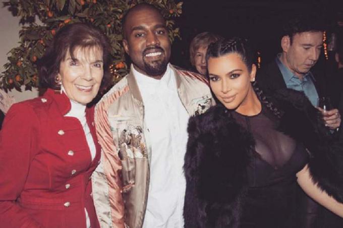 Ở nhà, Kim và các chị em gọi bà ngoại bằng cái tên trìu mến là bà MJ.