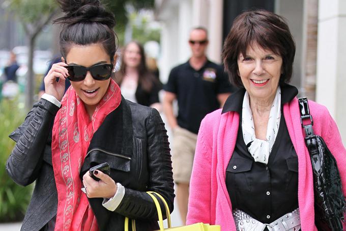 Bà Mary từng xuất hiện trong vài tập của chương trình truyền hình thực tế Keeping Up with the Kardashians.