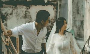 Ảnh cưới phim màu của chàng nhiếp ảnh gia và nàng thợ make-up
