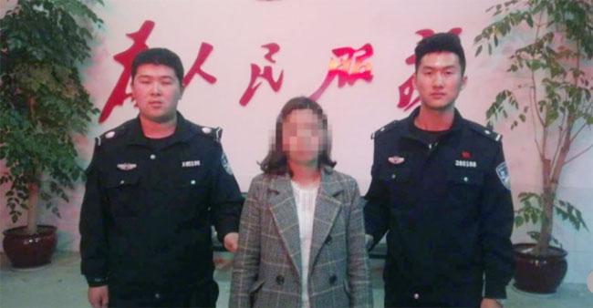 Cô gái trẻ bị bắt giam ngay sau khi khai ra sự thật.