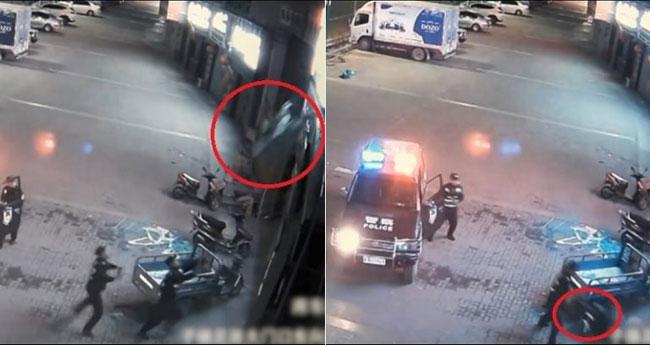 Nhân viên cảnh sát quả cảm không màng nguy hiểm cứu mạng người phụ nữ nghĩ quẩn.