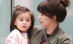 Con gái Giả Tịnh Văn thừa hưởng nhan sắc nổi trội của mẹ