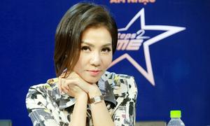 Thu Minh quay lại để tóc ngắn vì chồng Tây thích