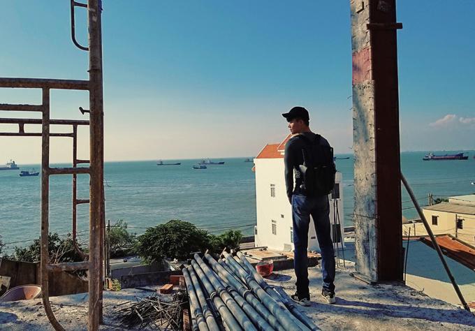 Biệt thự nhà Nathan Lee có hướng nhìn ra biển Vũng Tàu.