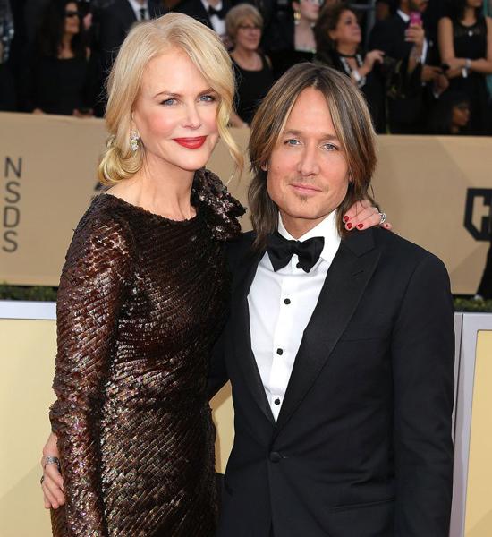 Vợ chồng Keith Urban và Nicole Kidman.