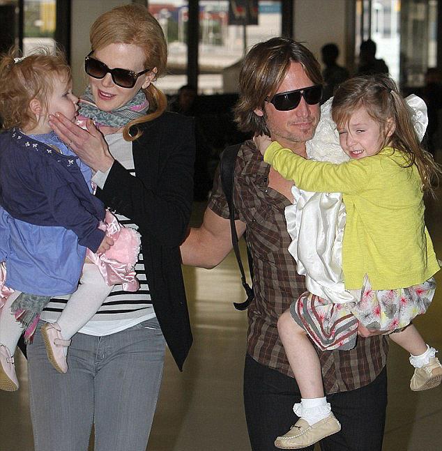 Keith đã thay đổi thành người hoàn toàn khác và có tổ ấm hạnh phúc bên Nicole Kidman cùng hai con gái.
