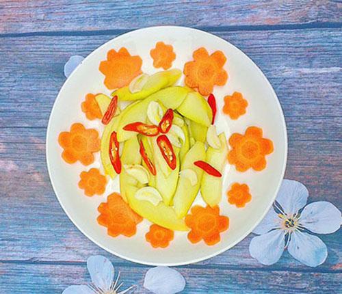 Susu ngâm sau 1 ngày là ăn ngon. Ảnh: Nguyễn Bích Ngọc.