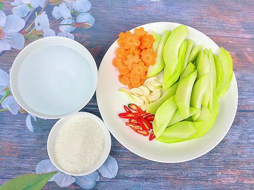 Susu ngâm chua ngọt đưa cơm - 2