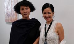 Hồng Nhung mặc pijama đến mừng Li Lam ra mắt bộ sưu tập mới