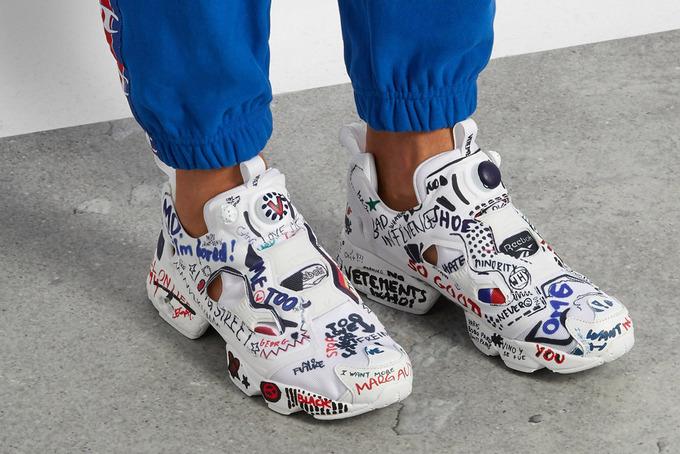 Sneaker \'thô kệch\' lên ngôi mùa mốt 2018
