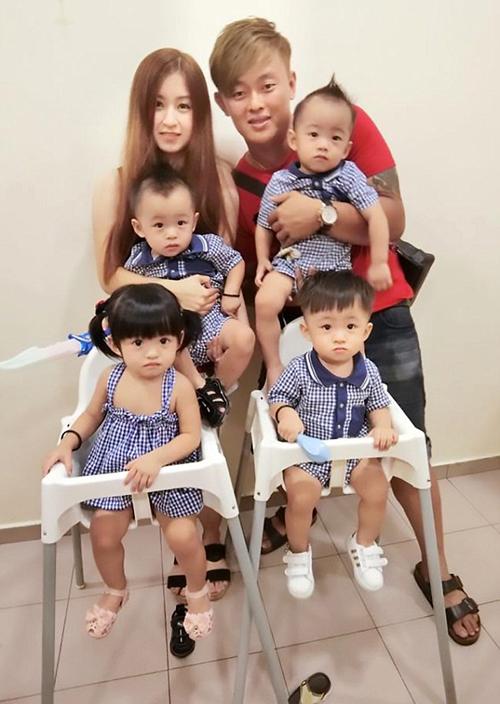 Ching sinh con út khi mới 21 tuổi. Ảnh: Doreen Ching.