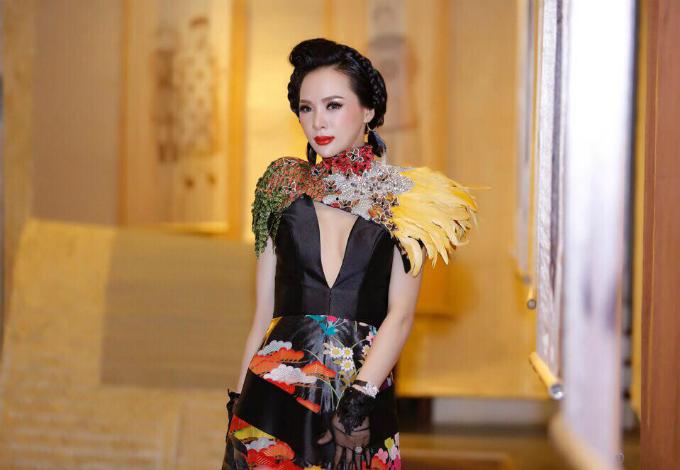 Á hậu Ngọc Quỳnh sở hữu gương mặt thanh tú, phong cách thời trang hiện đại, sành điệu.