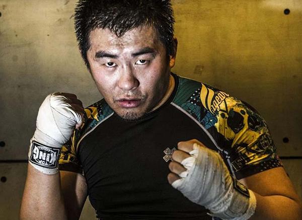 Võ sĩ MMA Từ Hiểu Đông. Ảnh: TH.