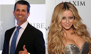 Con trai cả của Trump từng ngoại tình khi vợ mang bầu