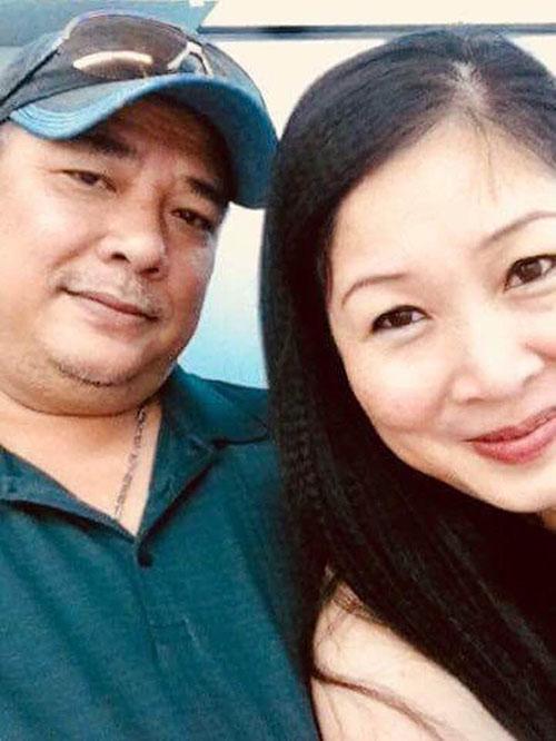 Nghệ sĩ Hồng Vân dành lời chúc mừng sinh nhật đến ông xã: Sinh nhật chồng yêu dấu cả bốn mẹ con, chỉ mong chồng thật nhiều sức khoẻ và mãi mãi là cây cột vững chắc của gia đình ta. Yêu chồng lắm lắm.