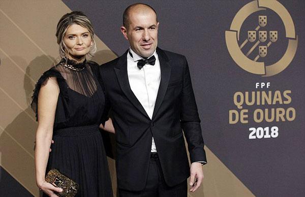 Leonardo Jardim, HLV Monaco, giành giải HLV hay nhất năm sau khi giúp đội bóng nước Pháp vô địch Ligue 1 năm ngoái.