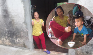 Niềm hạnh phúc có đứa con để nương tựa tuổi già của người mẹ cụt tay
