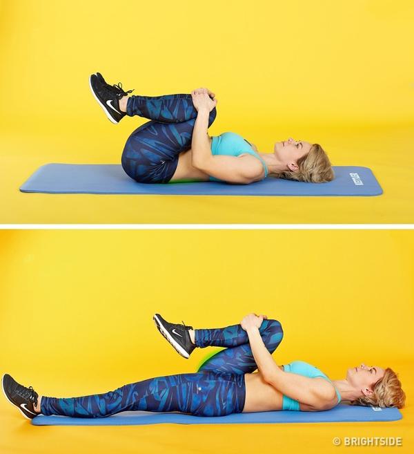 6 động tác giúp thư giãn vùng cổ và lưng như vừa được massage - 5
