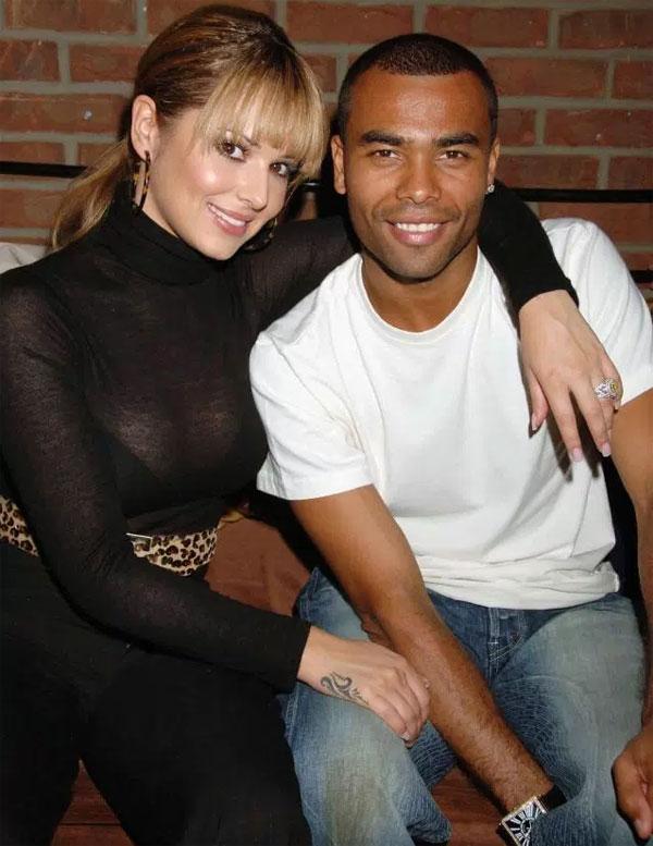 A. Cole và Cheryl từng là cặp đôi đình đám ở Anh. Ảnh: NS.