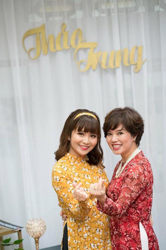 Theo tiết lộ của Chí Trung, con dâu có ngoại hình xinh xắn và tính cách tốt.