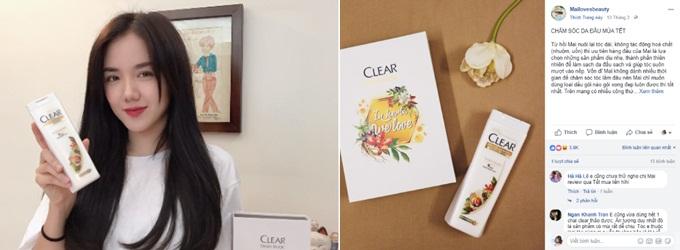 Ca sỹ Phương Ly, beauty blogger Hoàng Mai chia sẻ những trải nghiệm với dầu gội Clear Thảo dược