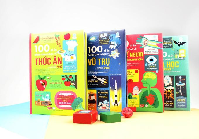 Những cuốn sách giúp trẻ phát triển đa giác quan - 1